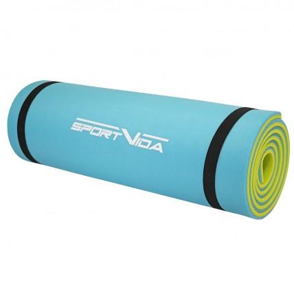 Коврик туристичний (каремат) SportVida XPE 1 см SV-EZ0003 Blue/Yellow