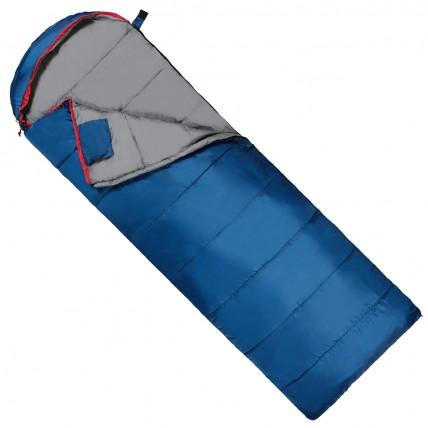 Спальний мішок (спальник) ковдра SportVida SV-CC0071 -3 ...+ 21°C L Blue/Grey