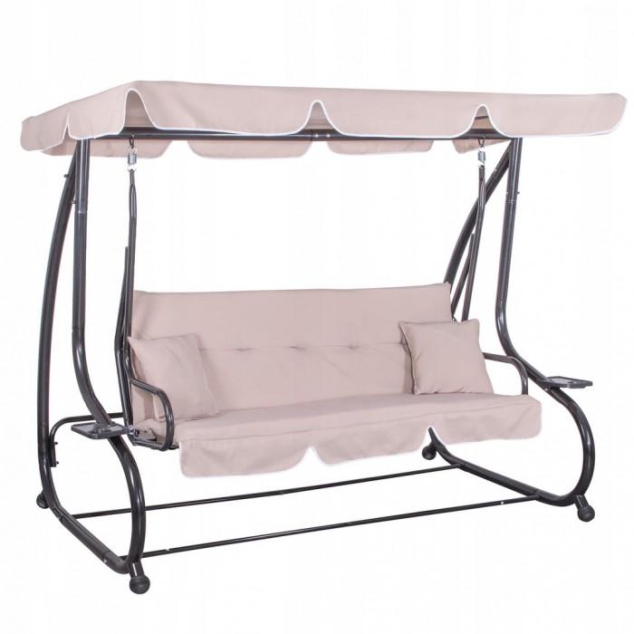 Гойдалка-диван садова з навісом Springos Venezia GS0006