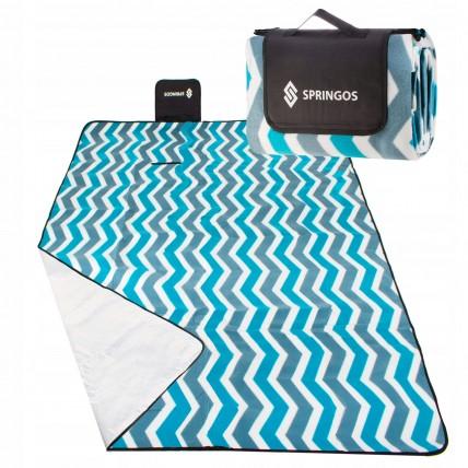 Коврик для пікніка та кемпінгу складаний Springos 200 x 160 см PM005