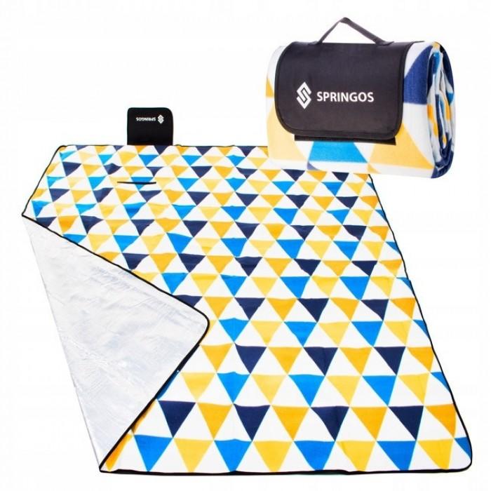 Коврик для пикника и кемпинга складной Springos 200 x 200 см PM001