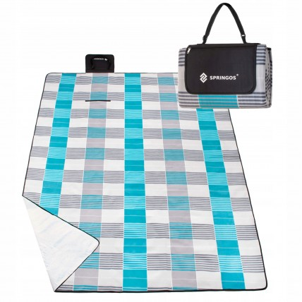 Коврик для пікніка та кемпінгу складаний Springos 240 x 200 см PM014