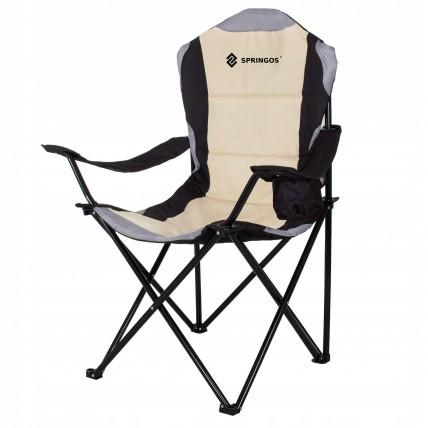 Крісло складне для кемпінгу та рибалки Springos CS0005