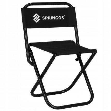 Крісло (стілець) складне для кемпінгу та рибалки Springos CS0011