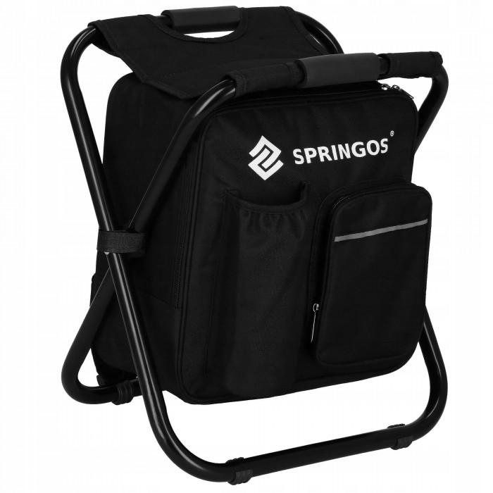Крісло (стілець) з рюкзаком для кемпінгу та рибалки Springos CS0012