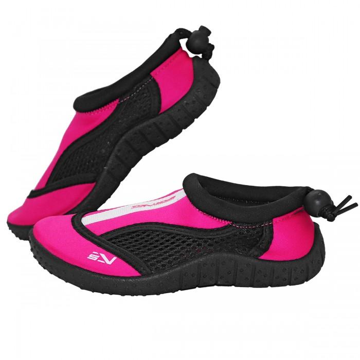 Взуття для пляжу і коралів (аквашузи) SportVida SV-GY0001-R33 Size 33 Black/Pink