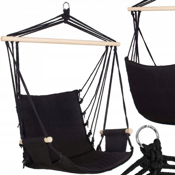 Кресло-гамак сидячий (бразильский) Springos 130 x 90 см HM014