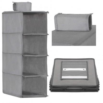 Підвісний органайзер для зберігання (одягу, білизни, аксесуарів, іграшок) Springos HA3038