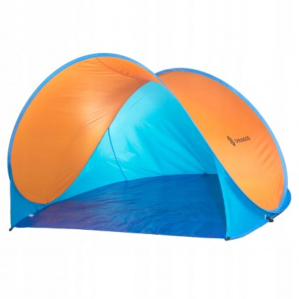 Пляжний тент Springos Pop Up 200 x 120 см PT003 Blue/Orange