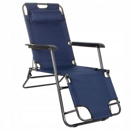 Шезлонг (кресло-лежак) для пляжа, террасы и сада Springos Zero Gravity GC0012
