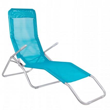 Шезлонг (лежак) для пляжа, террасы и сада Springos GC0046