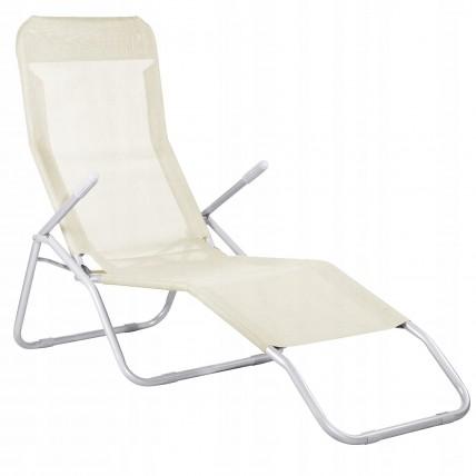 Шезлонг (лежак) для пляжа, террасы и сада Springos GC0047