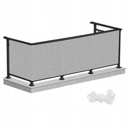 Ширма для балкона (балконна завіса) Springos 0.8 x 5 м BN1014 Grey