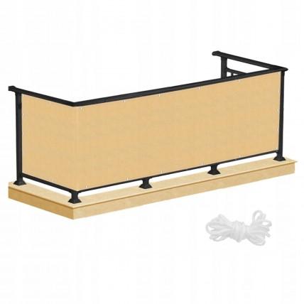 Ширма для балкона (балконна завіса) Springos 1 x 7 м BN1017 Biege