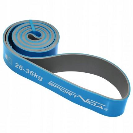 Еспандер-петля (резина для фітнесу і спорту) SportVida Power Band 44 мм 26-36 кг SV-HK0211
