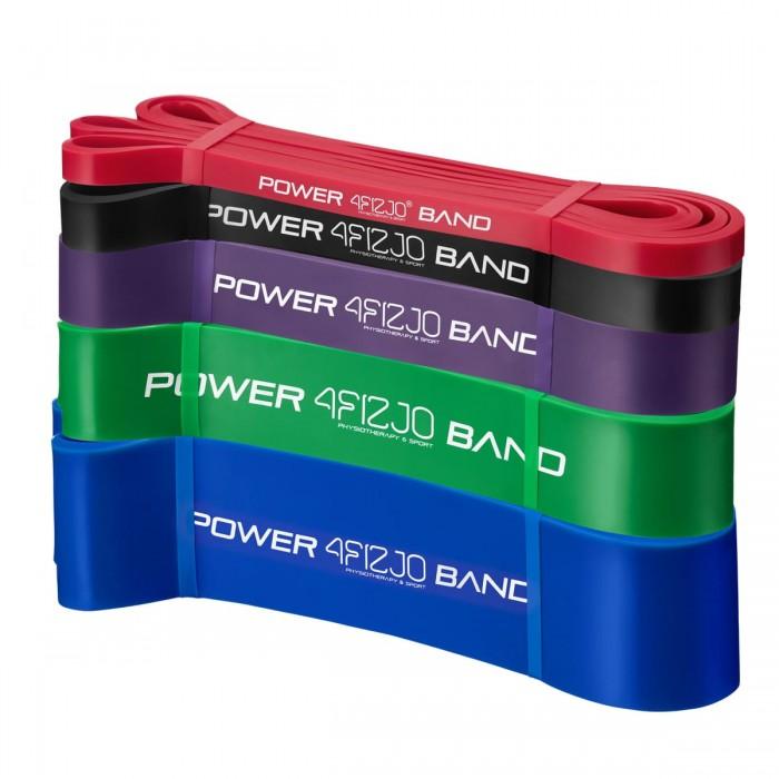 Еспандер-петля (резинка для фітнесу і спорту) 4FIZJO Power Band 5 шт 6-46 кг 4FJ0001