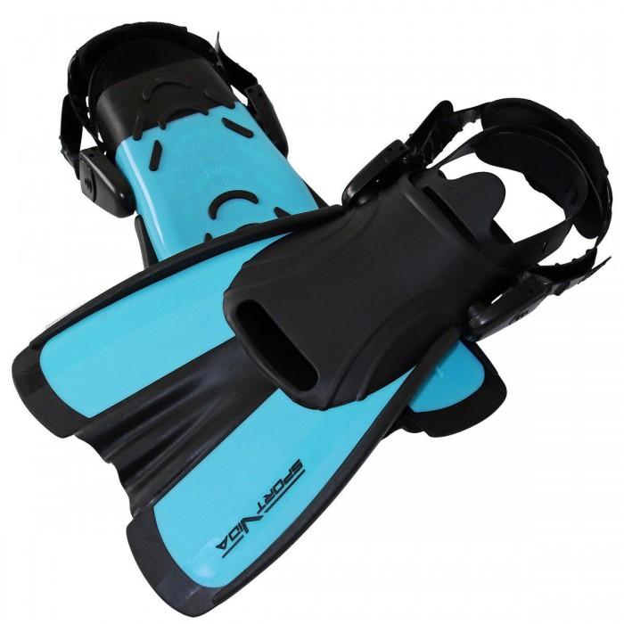 Ласти SportVida SV-DN0007JR-M Size 34-38 Black/Blue