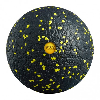 Масажний м'яч 4FIZJO EPP Ball 12 4FJ0057 Black/Yellow