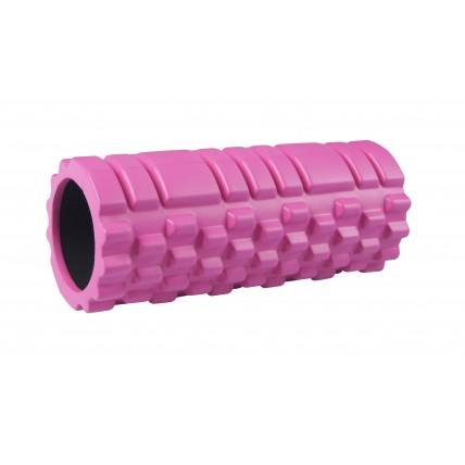 Масажний ролик (валик, роллер) SportVida SV-HK0062 Pink