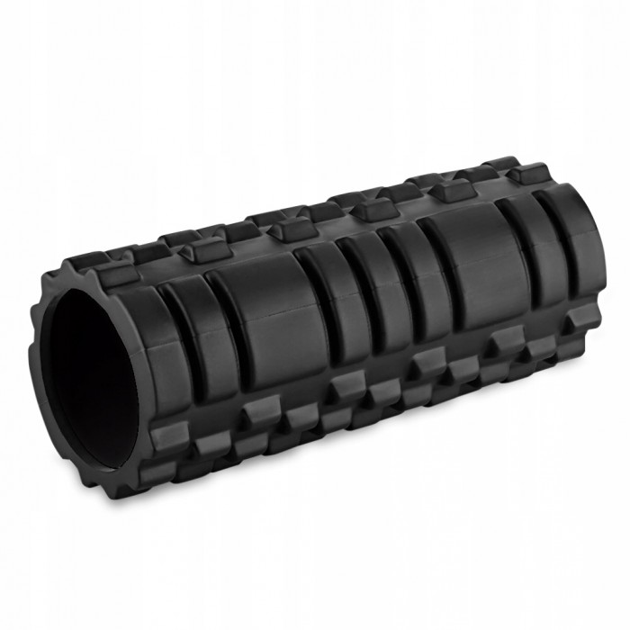Массажный ролик (валик, роллер) SportVida SV-HK0170 Black