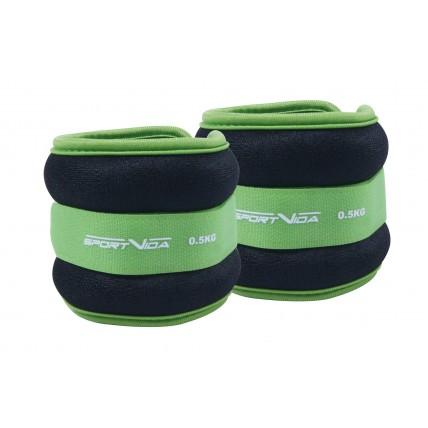 Обважнювачі для ніг та рук SportVida 2 x 0.5 кг SV-HK0032