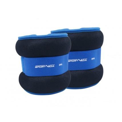 Обважнювачі для ніг та рук SportVida 2 x 2 кг SV-HK0036