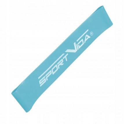 Резинка для фітнесу та спорту (стрічка-еспандер) SportVida Mini Power Band 0.6 мм 0-5 кг SV-HK0200