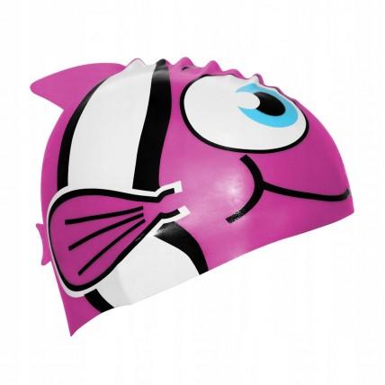Шапочка для плавання дитяча SportVida SV-DN0016JR Pink