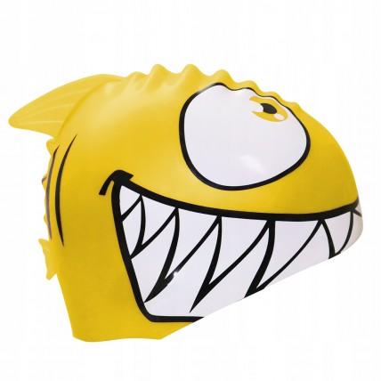 Шапочка для плавання дитяча SportVida SV-DN0017JR Yellow