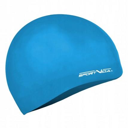 Шапочка для плавання дитяча SportVida SV-DN0019JR Navy