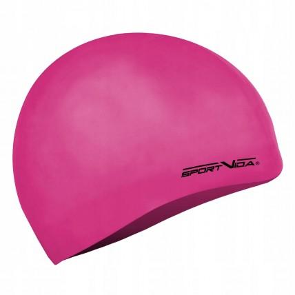 Шапочка для плавання дитяча SportVida SV-DN0019JR Pink