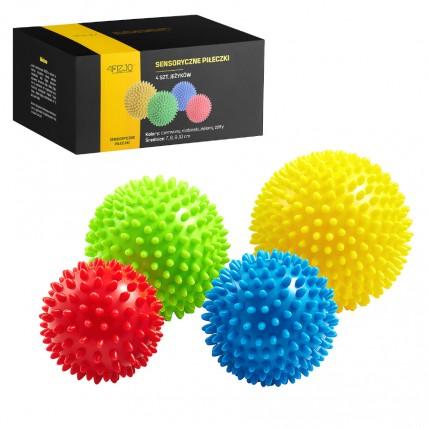Масажні м'ячі з шипами 4FIZJO Spike Balls 4 шт 4FJ0115