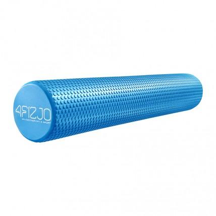 Масажний ролик (валик, роллер) 4FIZJO EVA 90 x 15 см 4FJ0116 Blue