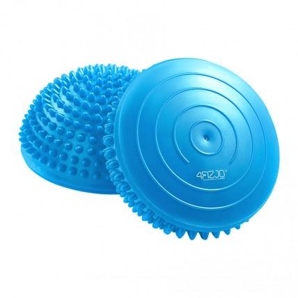 Півсфера масажна балансувальна (масажер для ніг, стоп) 4FIZJO Balance Pad 16 см 4FJ0058 Blue