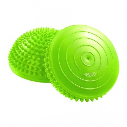 Півсфера масажна балансувальна (масажер для ніг, стоп) 4FIZJO Balance Pad 16 см 4FJ0059 Green