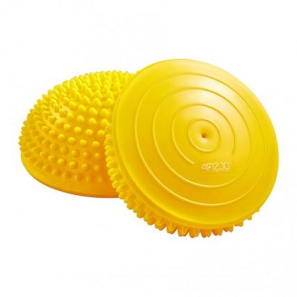 Півсфера масажна балансувальна (масажер для ніг, стоп) 4FIZJO Balance Pad 16 см 4FJ0110 Yellow