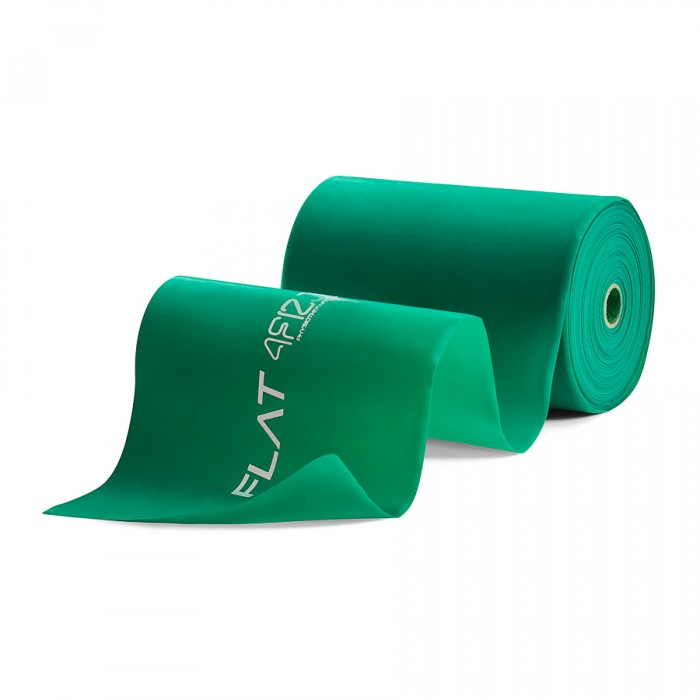 Лента-эспандер для спорта и реабилитации 4FIZJO Flat Band 30 м 5-8 кг 4FJ0103