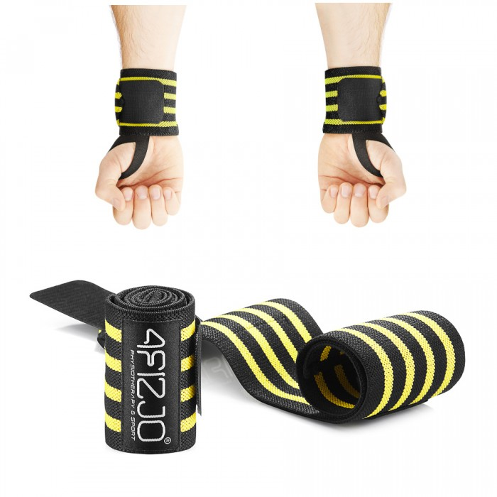 Бинти для зап'ясть (кистьові бинти) 4FIZJO Wrist Wraps 4FJ0135