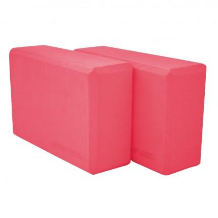 Блок для йоги 2 шт SportVida SV-HK0168-2 Pink