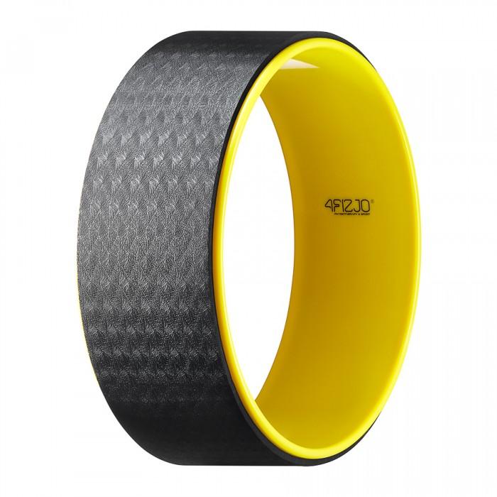 Колесо для йоги та фітнесу 4FIZJO Dharma XXL 4FJ0131 Yellow