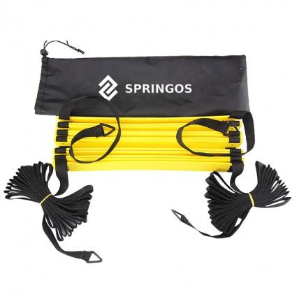Координаційна драбина (швидкісна доріжка) Springos 8 м FA0039