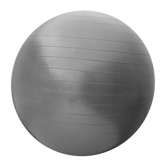 М'яч для фітнесу (фітбол) SportVida 55 см Anti-Burst SV-HK0286 Grey