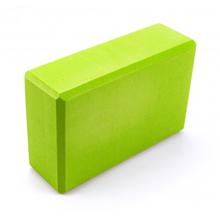 Блок для йоги Sportcraft Yoga Brick EVA ES0015 Lime