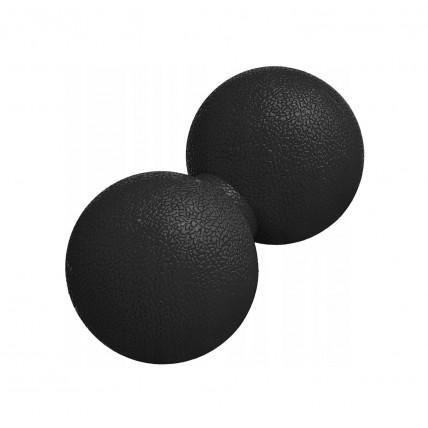 Масажний м'яч подвійний Springos Lacrosse Double Ball 6 x 12 см FA0022