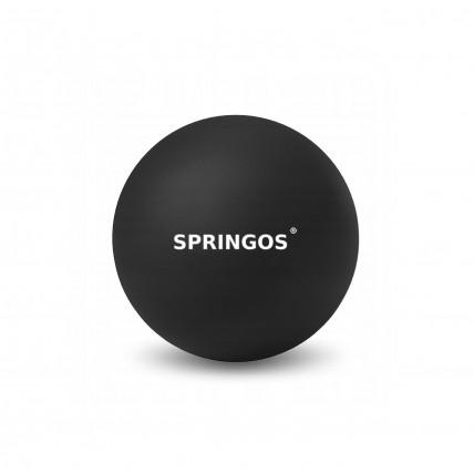 Масажний м'яч Springos Lacrosse Ball 6.5 см FA0050