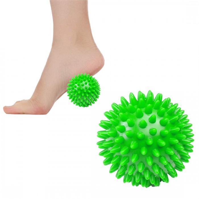 Массажный мяч с шипами Springos Spike Ball 9 см FA0018