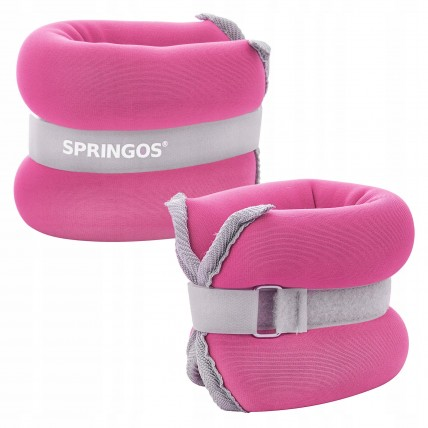 Обважнювачі-манжети для ніг та рук Springos 2 x 0.5 кг FA0070