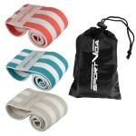 Резинка для фітнесу та спорту із тканини SportVida Hip Band 3 штуки SV-HK0363