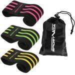 Резинка для фітнесу та спорту із тканини SportVida Hip Band 3 штуки SV-HK0365