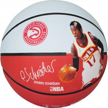 М'яч баскетбольний Spalding NBA Player Dennis Schroeder Size 7